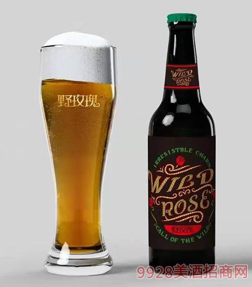 野玫瑰花仙子啤酒瓶装(绿盖)