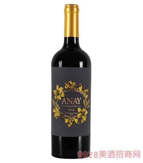 友好·灵感佳美娜葡萄酒14度750ml