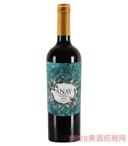 友好·灵感赤霞珠葡萄酒14度750ml