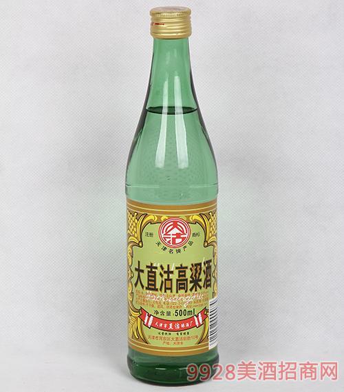 53度大直沽高粱酒500ml