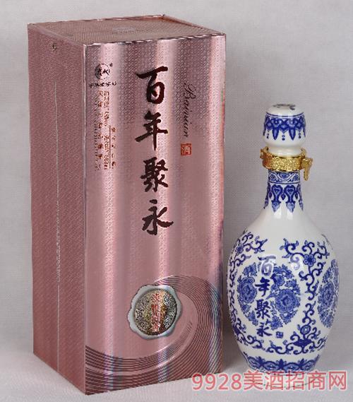 百年聚永(清香)酒48度500ml