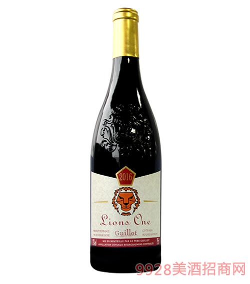 吉洛雄狮1号-勃艮第2016红葡萄酒