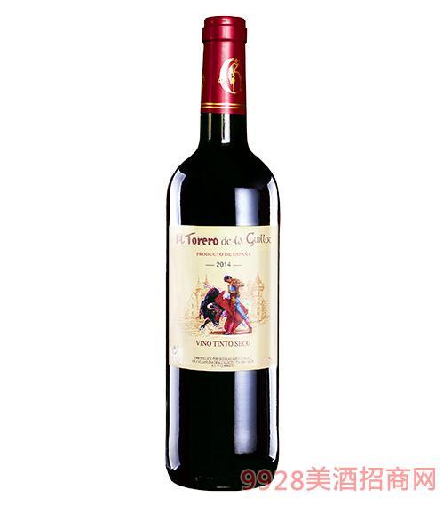 西班牙吉洛斗牛士紅葡萄酒金標