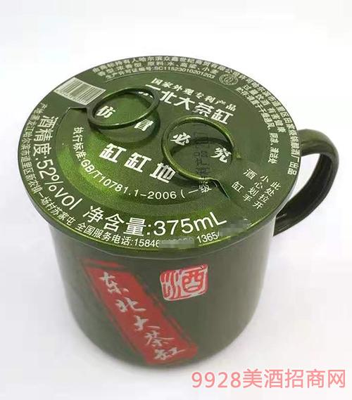 东北大茶缸酒52度375ml