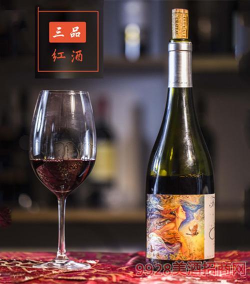 枫博梦美人珍藏红葡萄酒