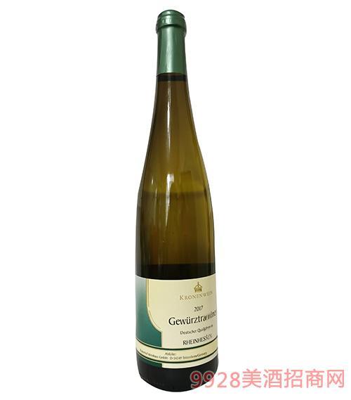 王冠琼瑶浆白葡萄酒