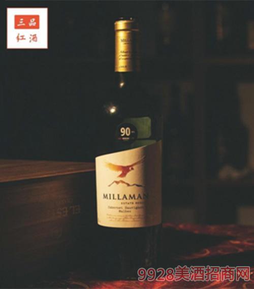 金���f珍藏干�t葡萄酒