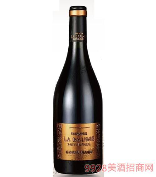 波美度科比艾干红葡萄酒14度750ml