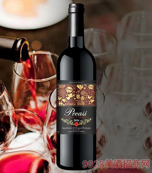佩威斯盛宴波尔多干红葡萄酒750ml