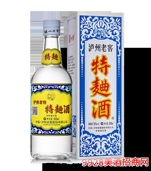 瀘州老窖特曲酒60版38度500ml