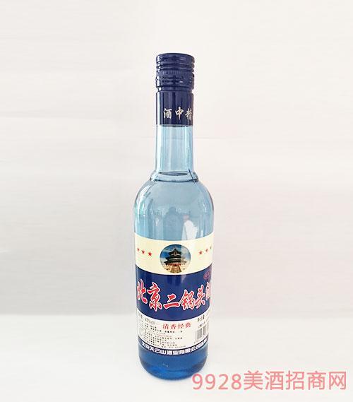 北京二��^酒清香�典43度500ml