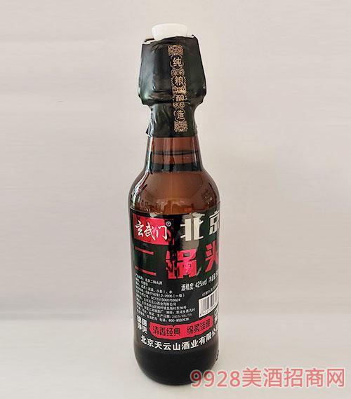 玄武�T北京二��^酒42度500ml