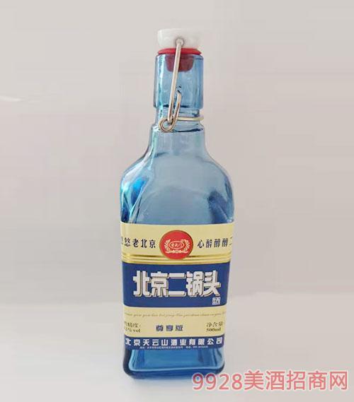 北京二锅头酒尊享版42度500ml