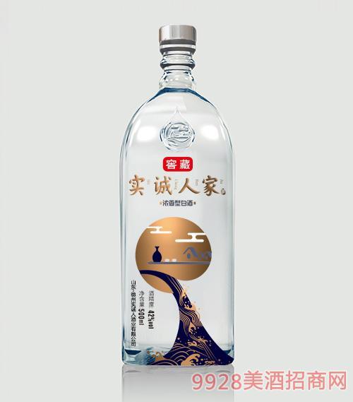 ���\人家酒-窖藏42度500mlx6