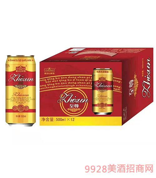 雁荡山啤酒至尊500mlx12
