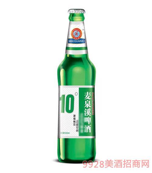 ��泉溪啤酒500ml