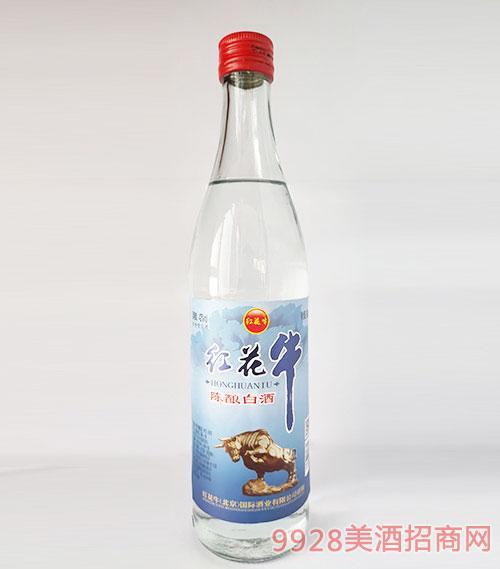紅花牛陳釀白酒42度