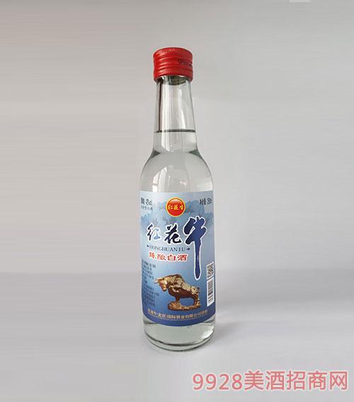 紅花牛陳釀白酒42度260ml