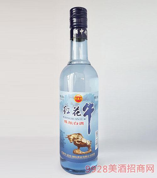 紅花牛陳釀白酒42度500ml