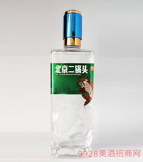 北京二锅头印象北京42度500ml绿标