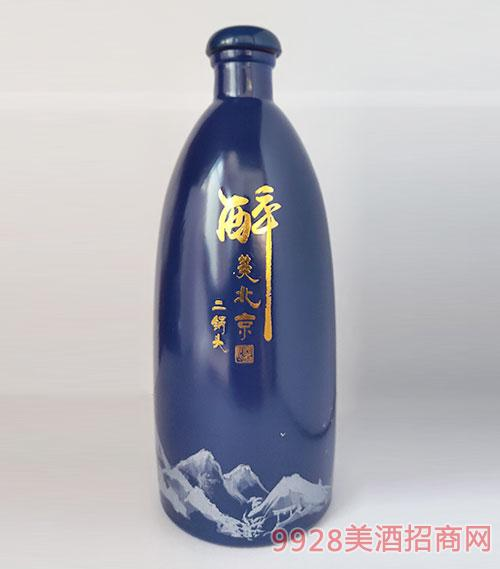 醉美北京二锅头酒蓝