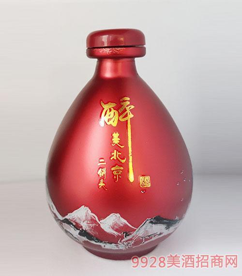 醉美北京二鍋頭酒壇裝紅