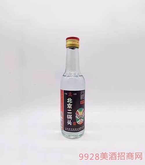 君有福北京二锅头绿脸谱42度250ml