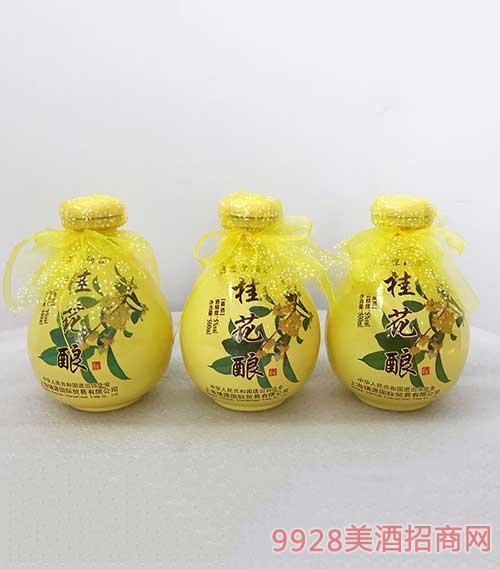 桂花酿酒5度500ml