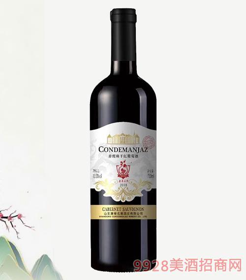 康蒂名爵赤霞珠干�t葡萄酒