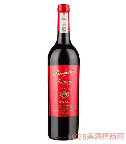奔富海�m酒�fBN589干�t葡萄酒