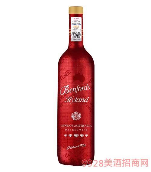 奔富海兰酒庄BN138红钻干红葡萄酒