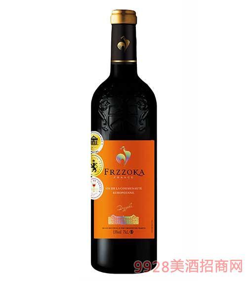 法兰风情干红葡萄酒