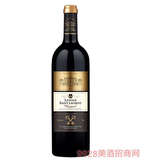 拉图圣奥伦葡萄园干红葡萄酒