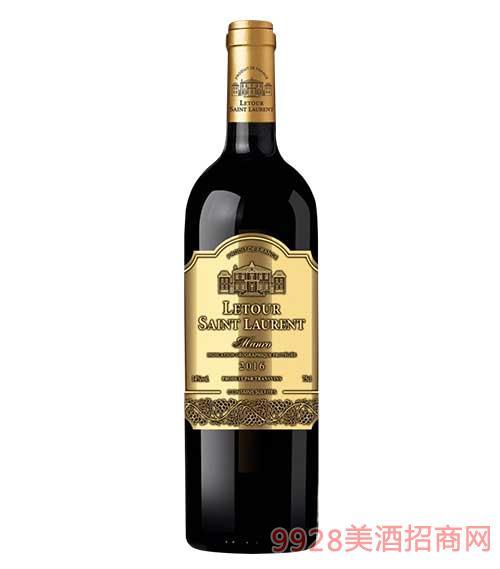 拉图圣奥伦古堡干红葡萄酒