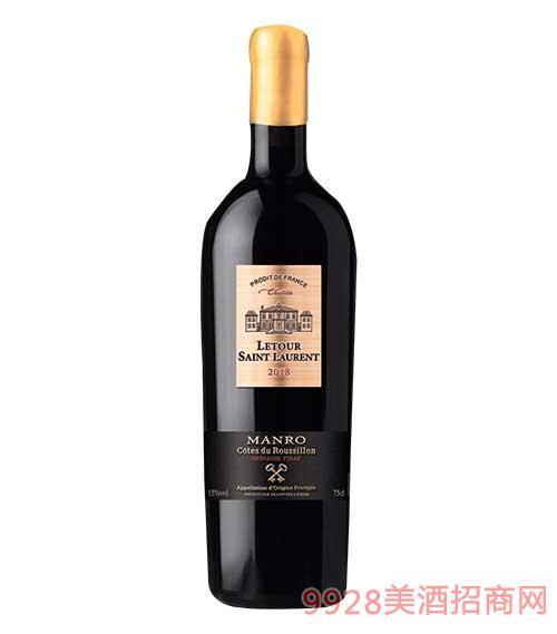 拉图圣奥伦庄园干红葡葡酒