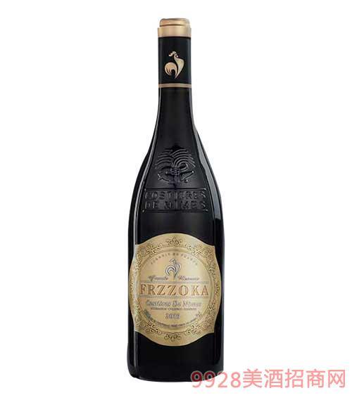 法�m�L情珍藏干�t葡萄酒14.5