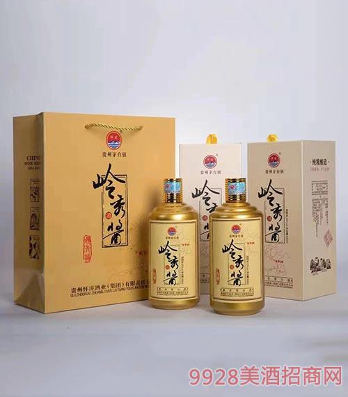 怀庄岭秀酱酒53度500ml黄