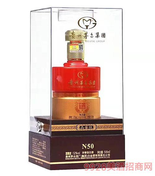 白金酒坊酒品鉴级N50-52度500ml
