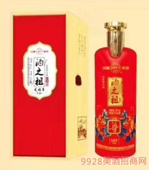 酒之祖龙福尊酒V10-52度475ml