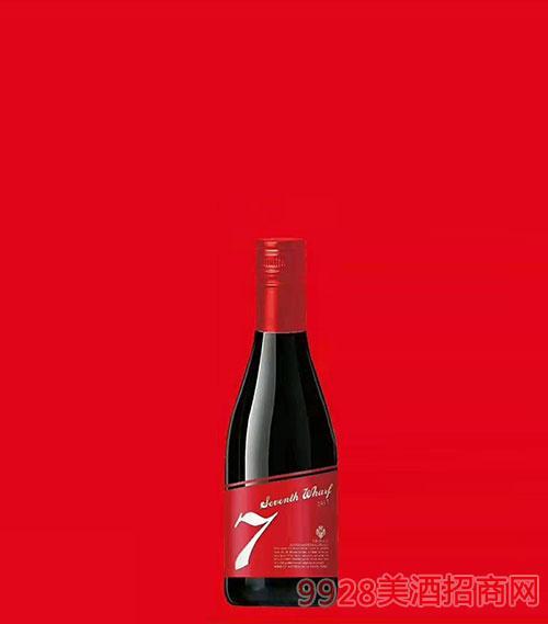 七号码头干红葡萄酒