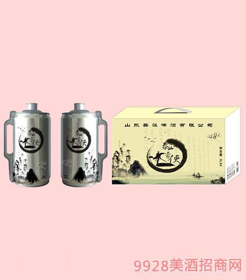 泰山豪侠啤酒2Lx4