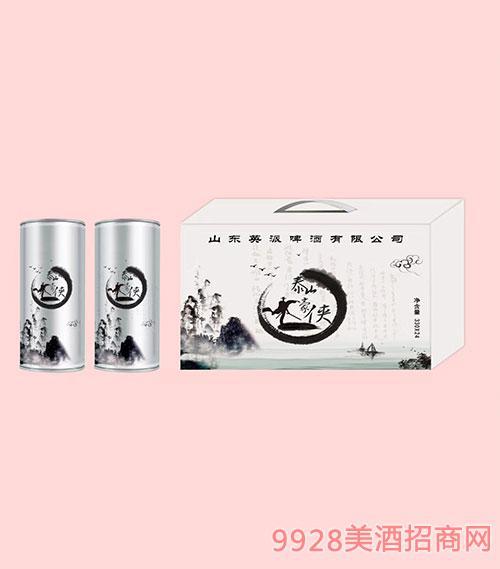泰山豪侠啤酒330mlx24