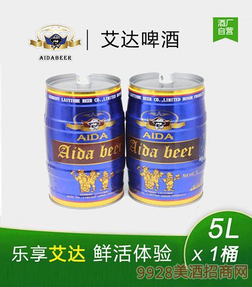 艾达啤酒5L