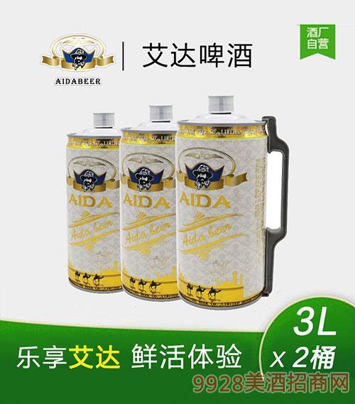 艾达啤酒3Lx2