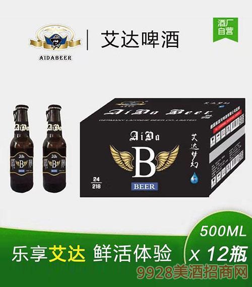 艾达啤酒500mlx12