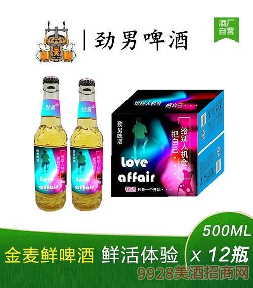 劲男啤酒500mlx12