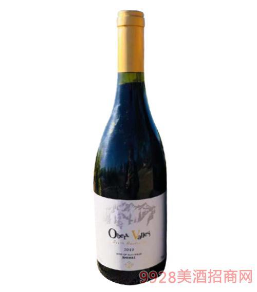 澳奔山谷西拉干紅葡萄酒