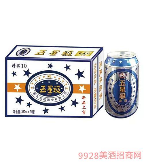 五星�啤酒320mlx24