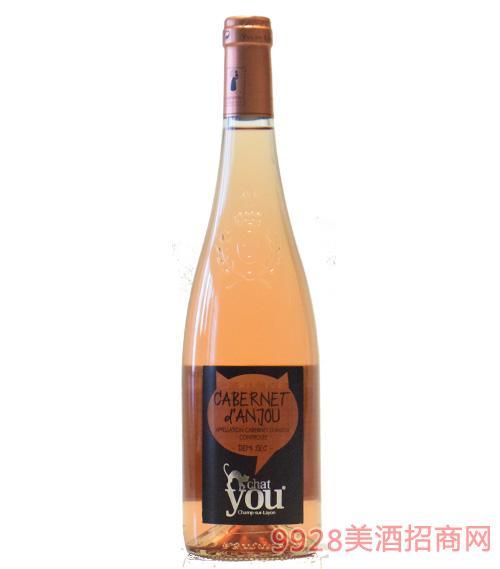 安茹卡本内桃红葡萄酒