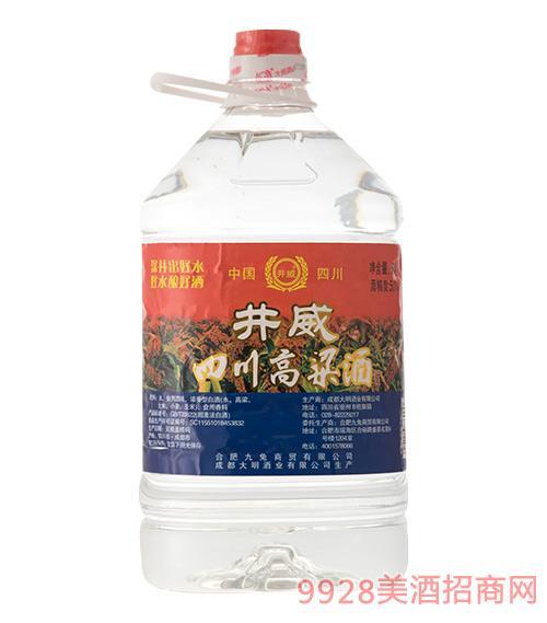 井威四川高粱酒50度5L